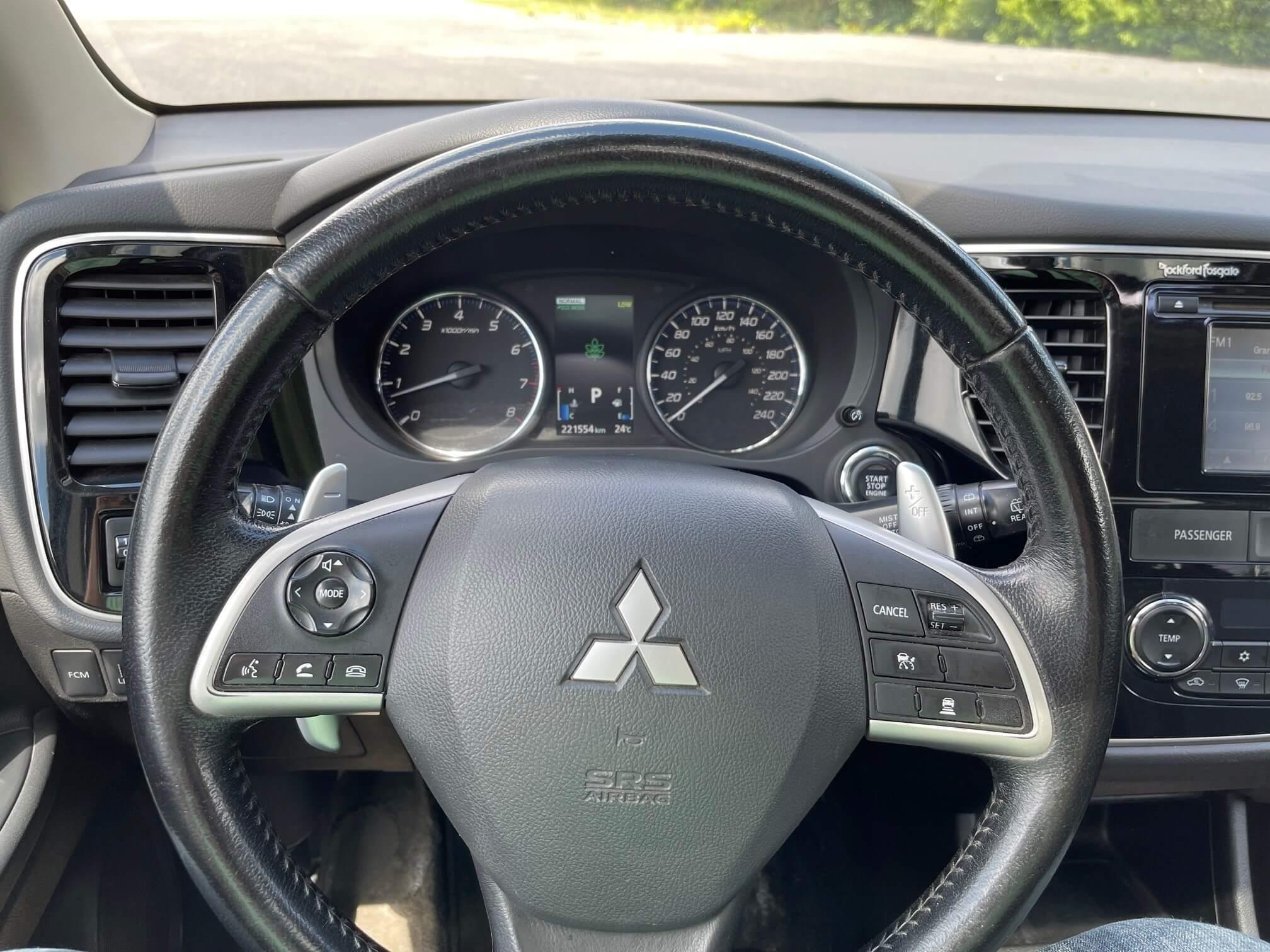 2014 Mitsubishi Outlander complet