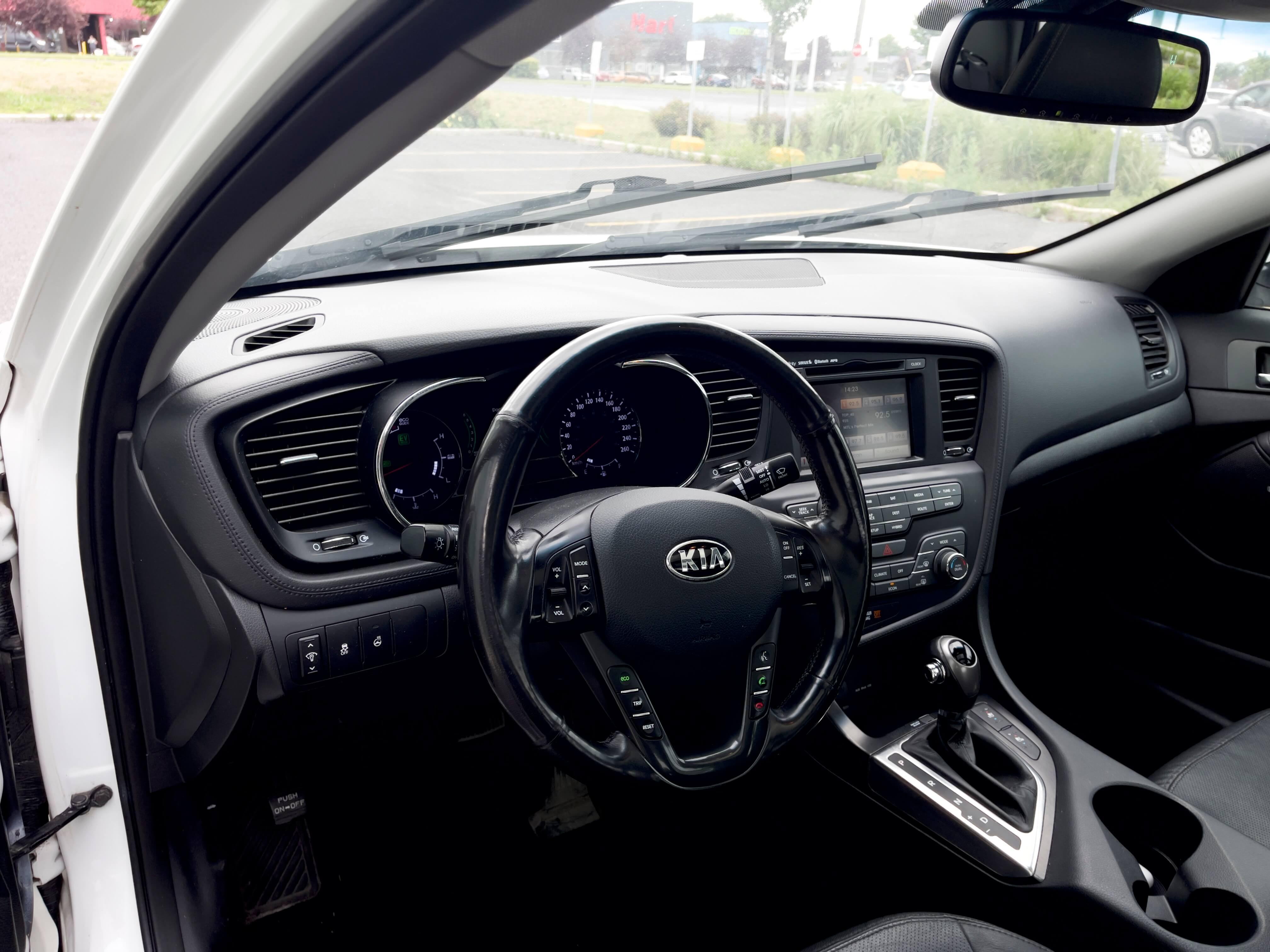 2013 Kia Optima Hybrid EX complet