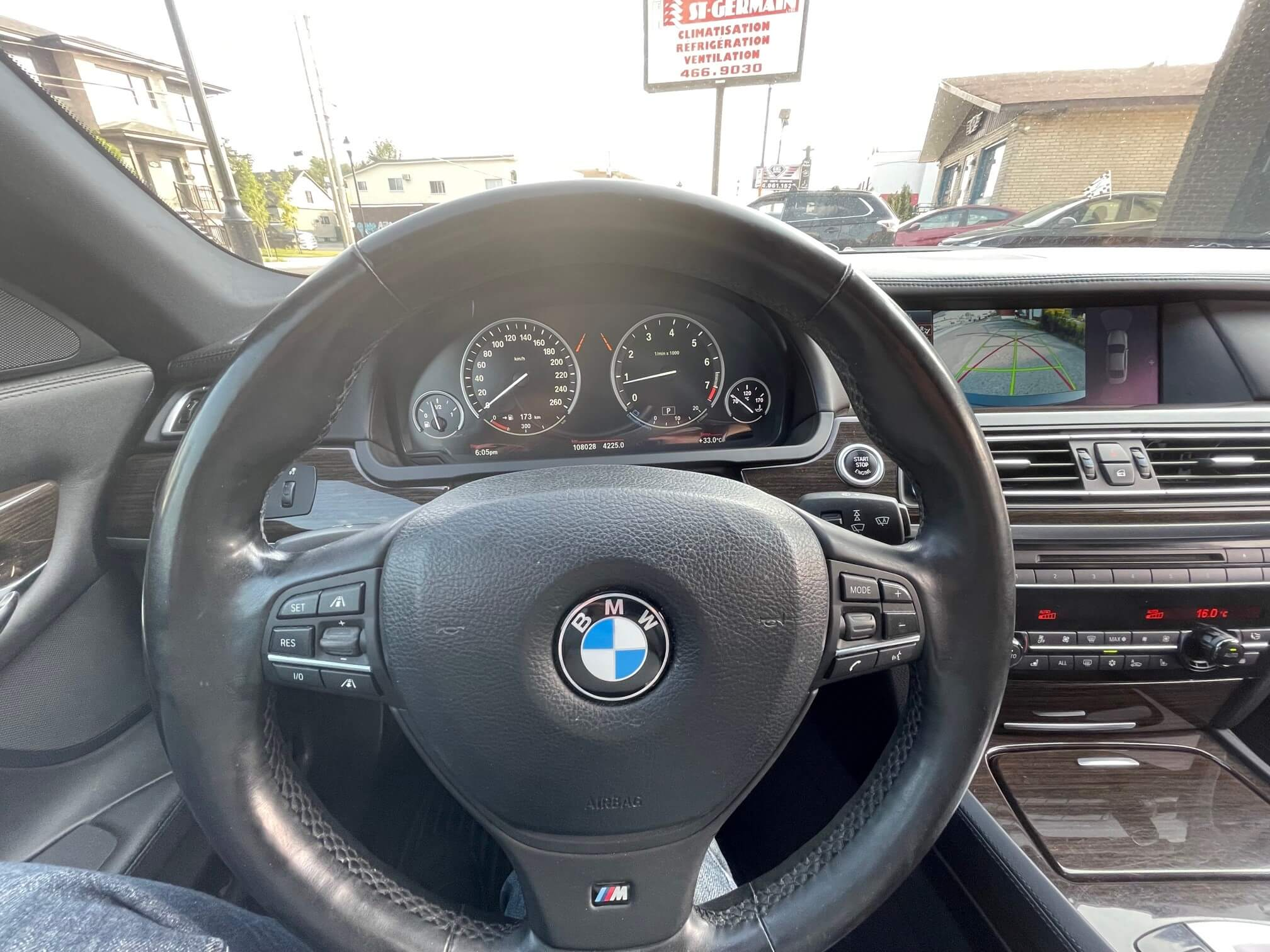 2012 Bmw 7-Series complet