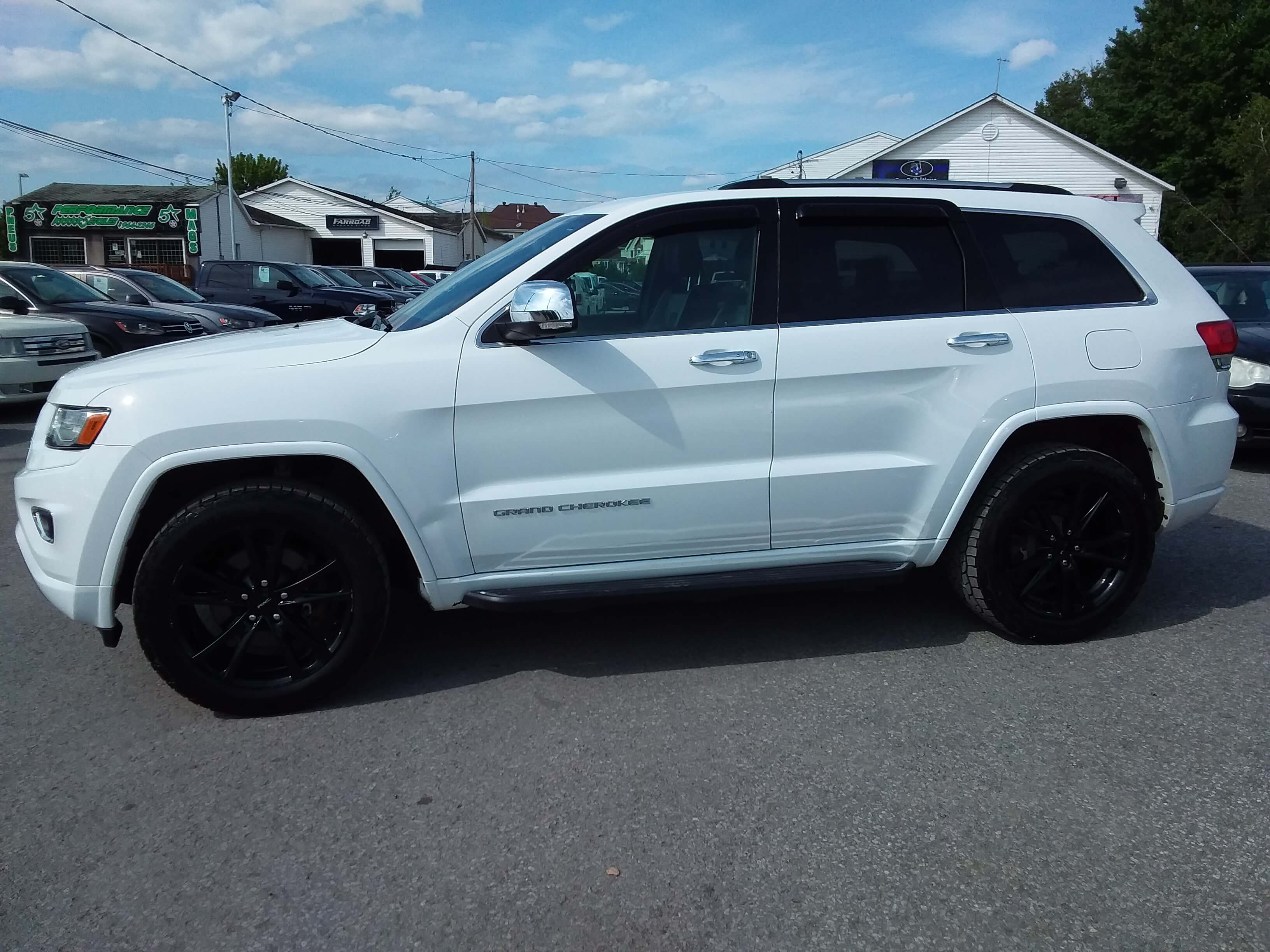 2016 Jeep Grand Cherokee Overland EcoDiesel complet