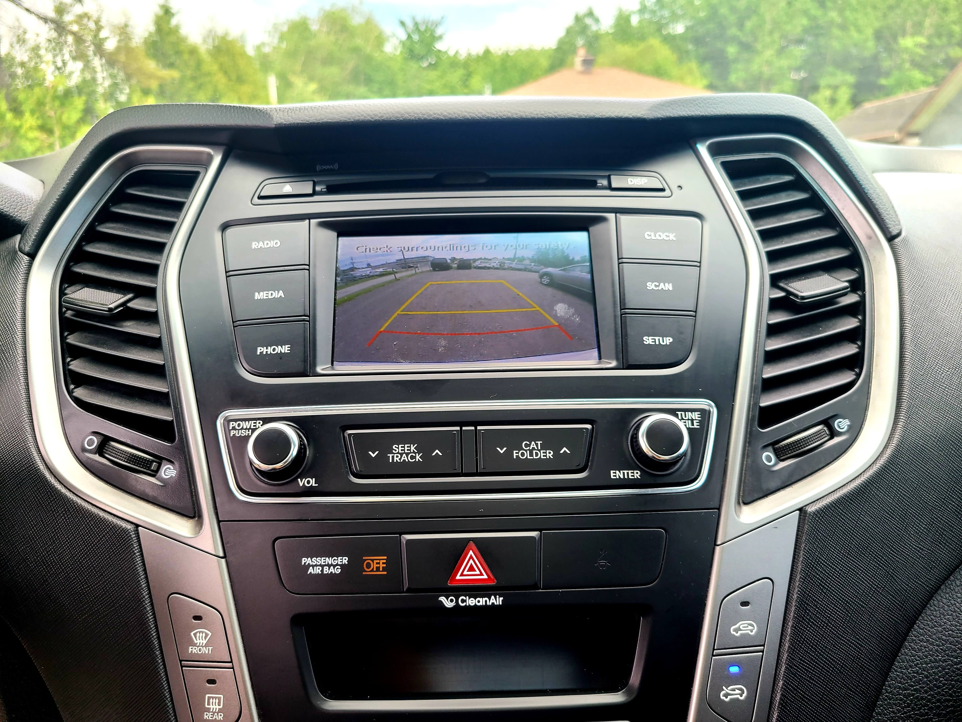 2017 Hyundai Santa Fe AWD /CUIR/ CAMERA/ PANO complet