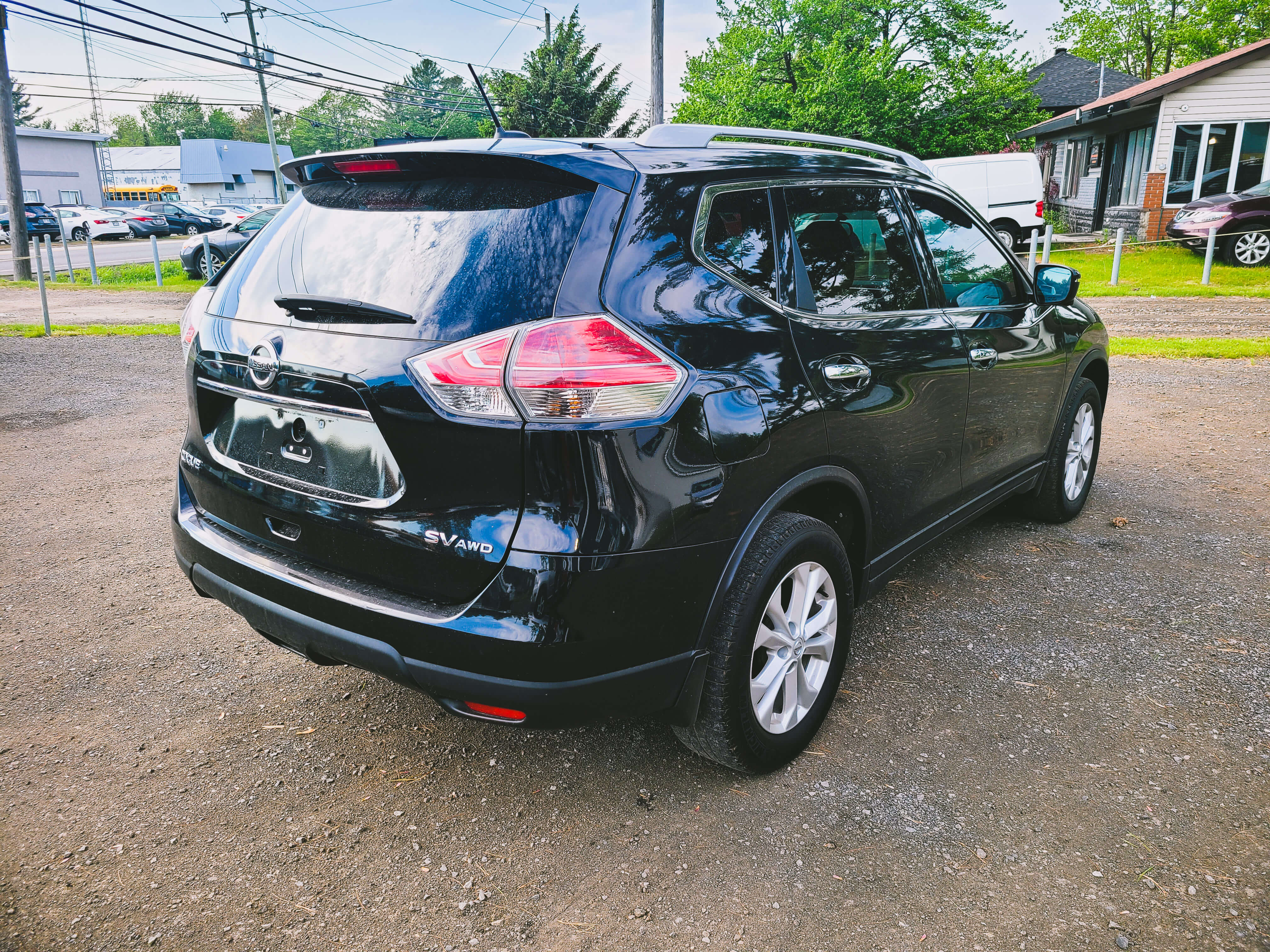 2016 Nissan Rogue SV AWD SEATS REAR VIEW CAMERA complet