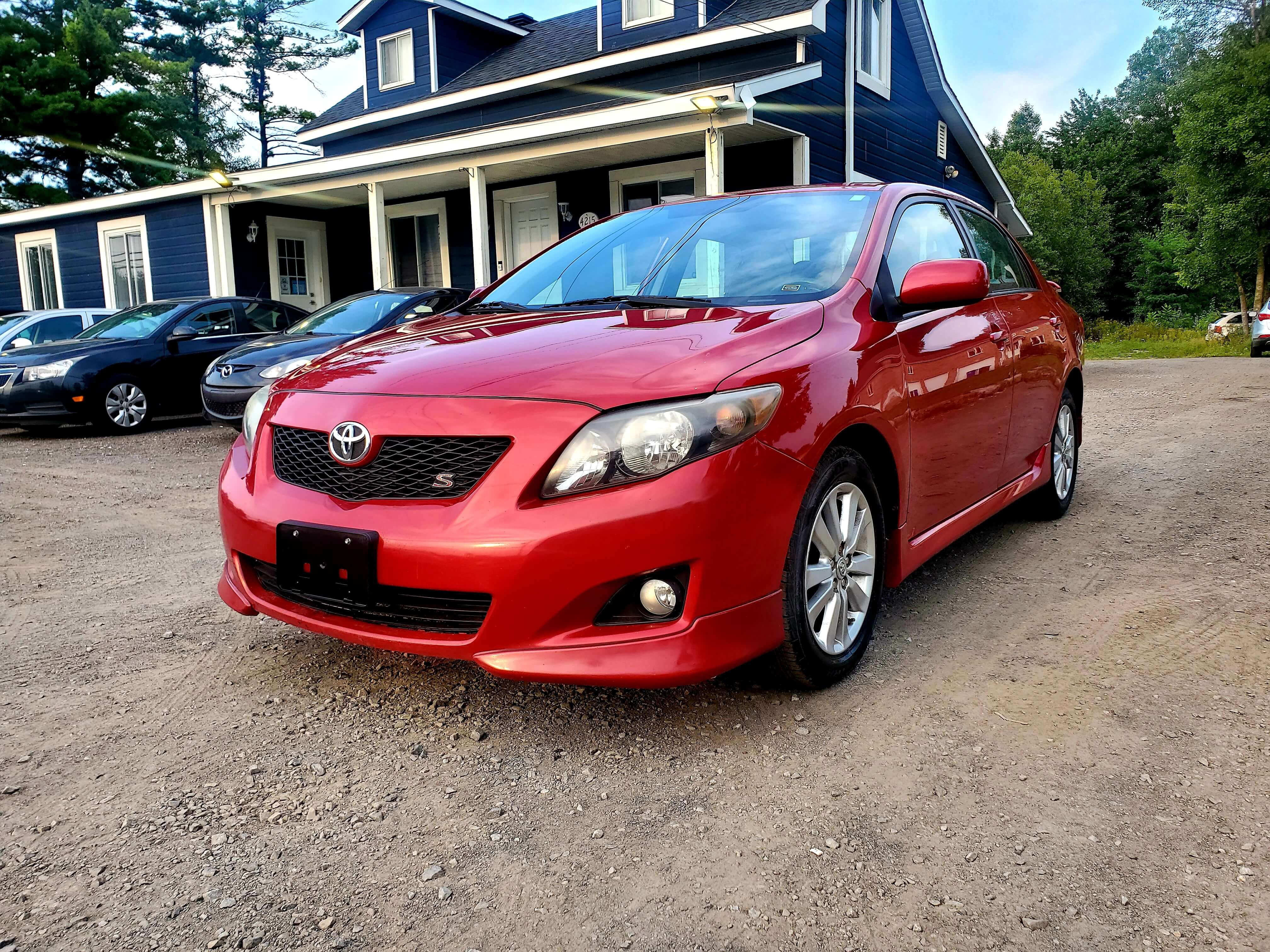 2009 Toyota Corolla S complet