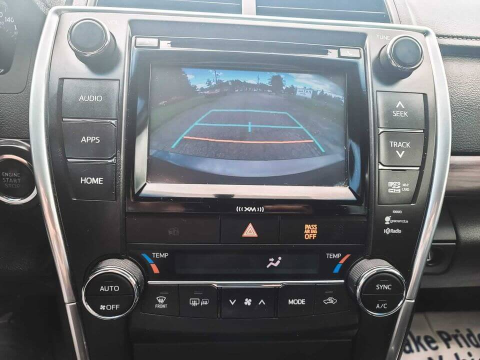 2016 Toyota Camry XLE Leather/Gps/Camera/SunRoof complet